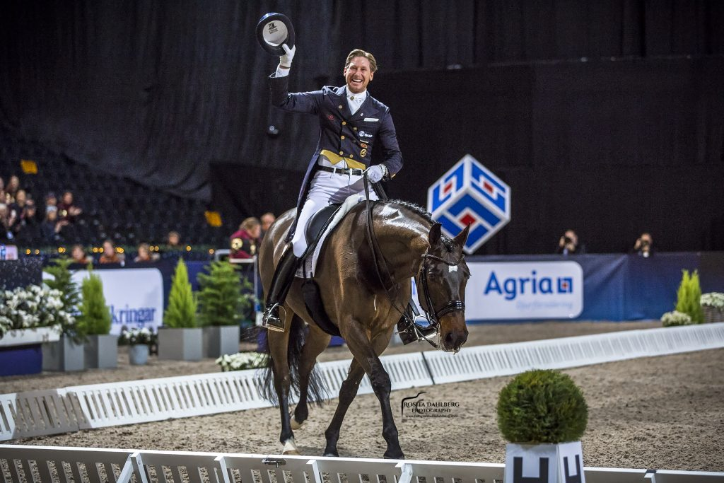 Patrik Kittel organize dressage competition and sets new Swedish record in the same weekend